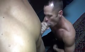 horny daddy getting his ass wipped