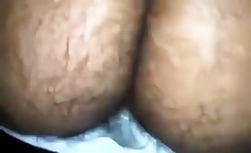 Eating a tasty hairy ass