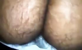 Eating a tasty hairy ass