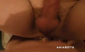 Boy toy gets pounded by the pastor in a home visit