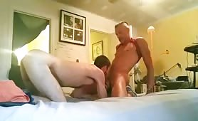 sexy white dude gets plowed raw by grindr top