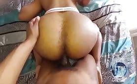Bubble butt guy fucked In a Jock strap