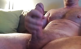 Daddy with a thick hard cock