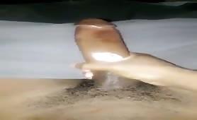Stroking my beautifull cock