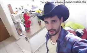 Sexy latin cowboy fucks me like never before