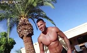 Latin Lover Tony Romero Jerks his fat cock