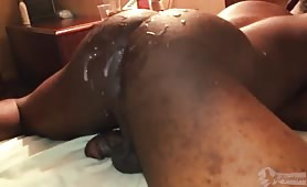 Banging a hot smooth jumping ass
