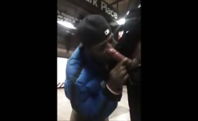 Homeless having a good time in a subway station