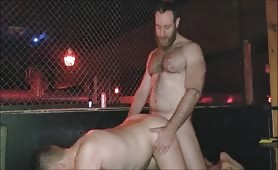 Hot stud nailing his best friend's ass