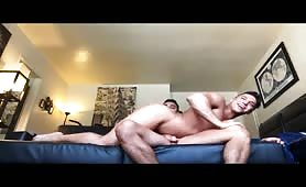 Hot muscled latino guys having hot raw sex