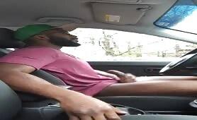 I'm so horny that I had to masturbate in the car