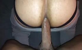 Huge cock breeding my delicate ass