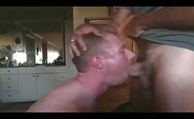 Skull throat fuck