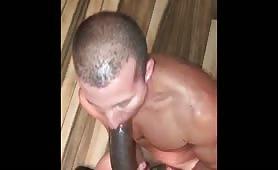 Enjoying my boyfriend's huge black cock