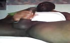 Huge Black Tamil Dravidian Penis jerked off by a Madras Regiment Soldier