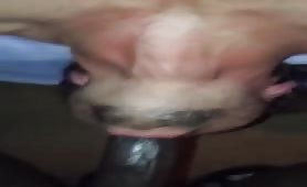 huge black cock deep throat like a pro