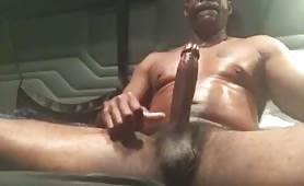 big black trucker daddy's cock